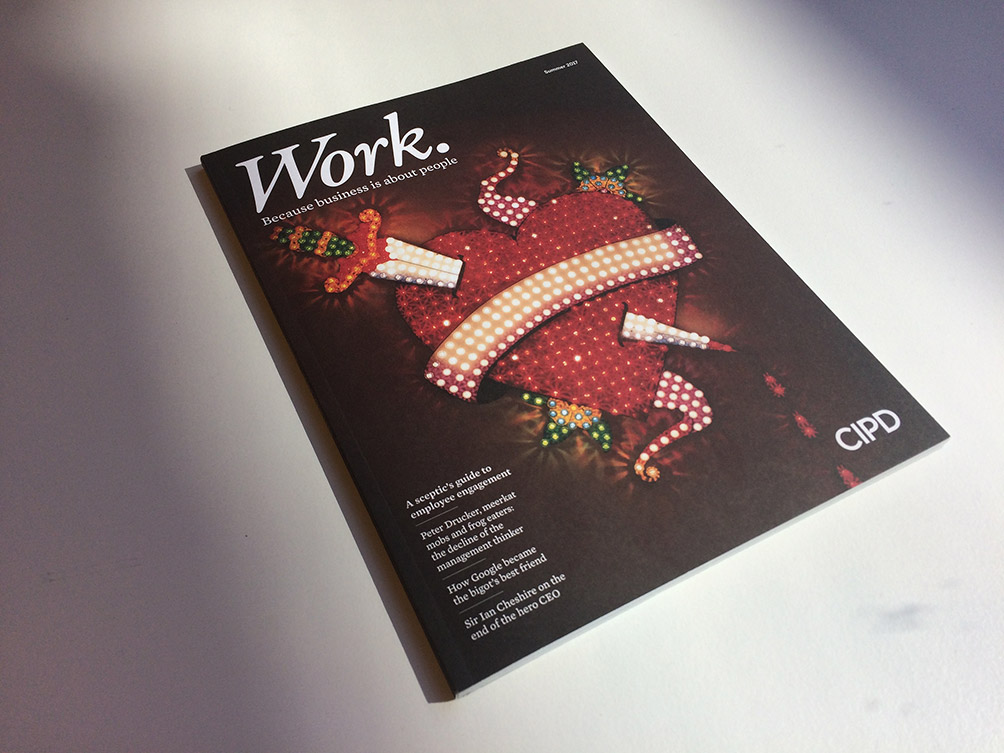 Work. Magazine uses striking image by Tim Noble and Sue Webster
