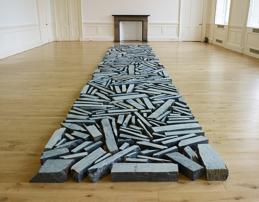New Richard Long exhibition at Derby Museum and Gallery