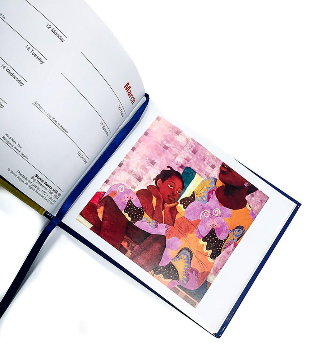 2018 Royal Academy diary features Sonia Boyce artwork