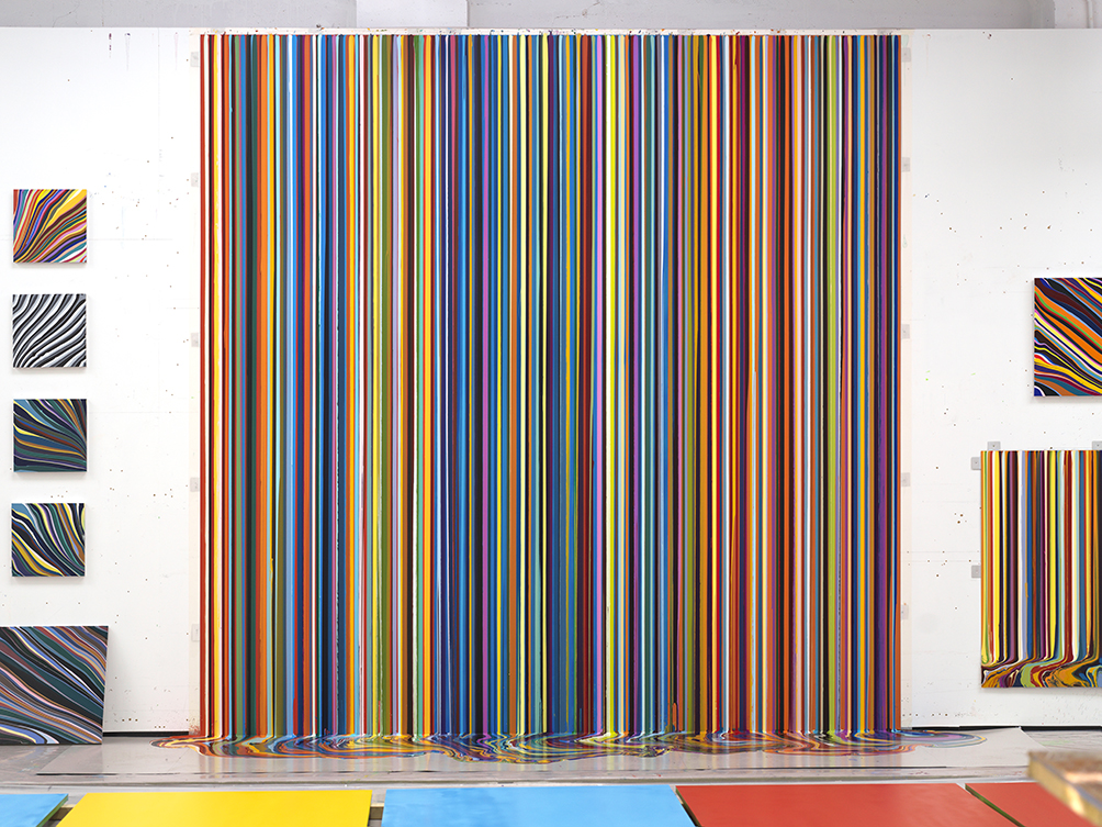 Interview: YBA Ian Davenport talks to us about his Colourscapes exhibition